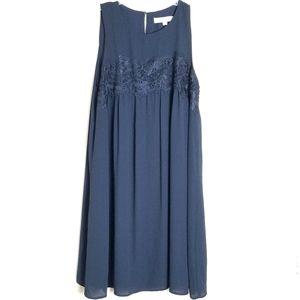 NWT Ann Taylor Loft Sleeveless A-Line Dress